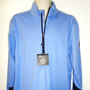 RALPH LAUREN - RLX - LIGHT BLUE PULLOVER - NWT